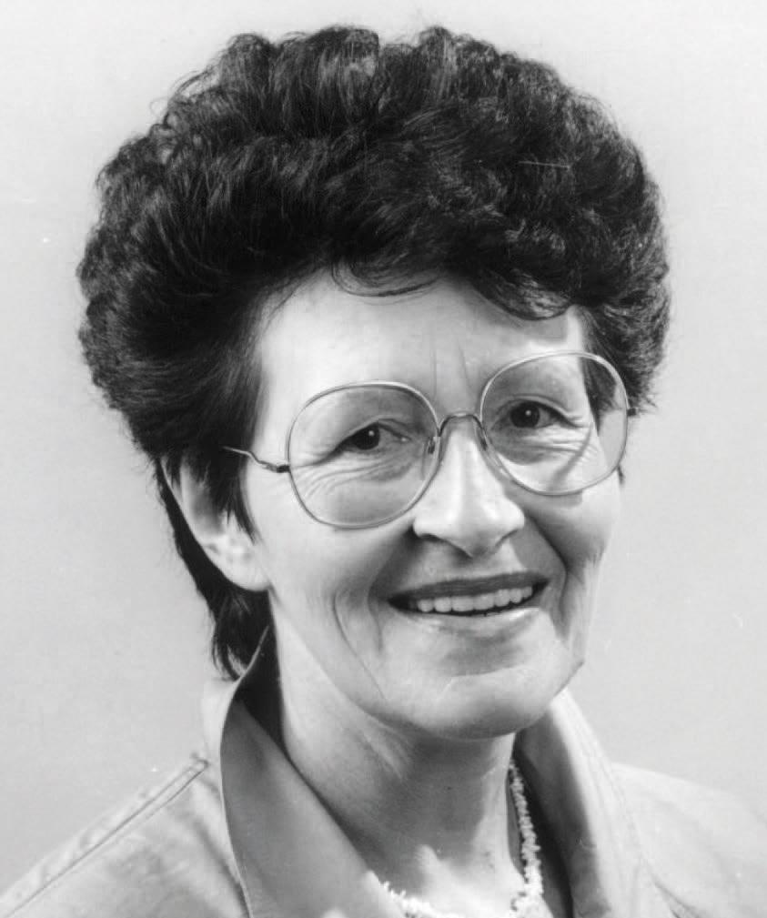 Elfriede Mack - Erste Frau im Bürgermeisteramt