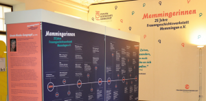 Ausstellung der Frauengeschichtswerkstatt Memmingen